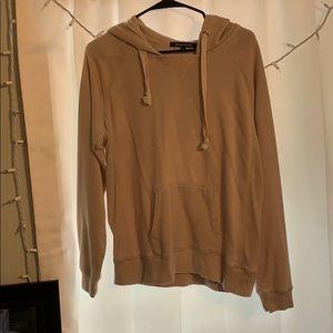 Tan sweatshirt